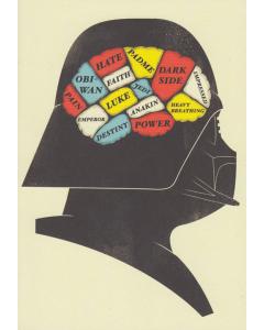Phrenology Darth Vader Card