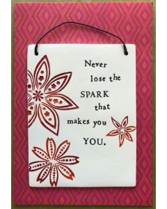Daughter Birthday - 'Never lose that spark....'
