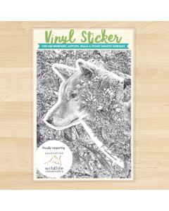 Dingo Vinyl Sticker