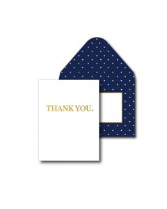 Thank You Cards - Distinguished Gold (10 cards)