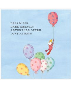 Dream big -  Twigseed card