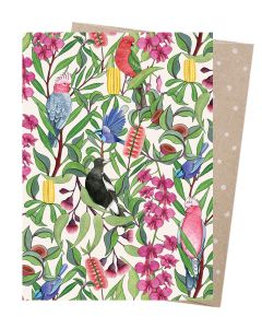 Greeting Card - 'Native Tango' (Australian Birds)