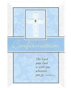 CONFIRMATION Card - God is With You