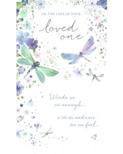 Sympathy Card - Loss of Loved One