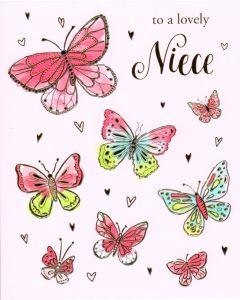 NIECE Card- Butterflies