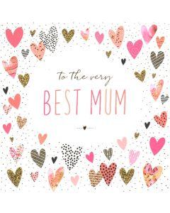 MUM Card - Pretty Hearts
