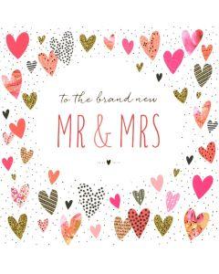 WEDDING Card - Brand New Mr & Mrs