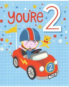 AGE 2 Card - Red Car