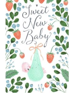 New BABY Card- Sweet New Baby