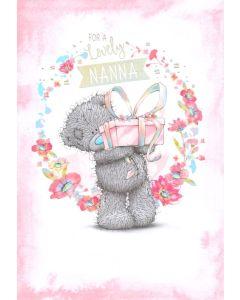 NANNA Card - Teddy & Present