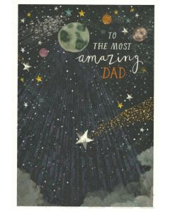 DAD Birthday Card - Amazing Dad
