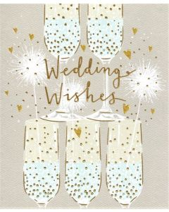 WEDDING Card - Champagne Tower