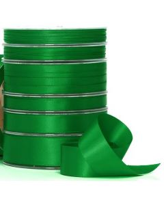 Ribbon Roll - Premium Satin EMERALD GREEN (10mm x 25 metres)