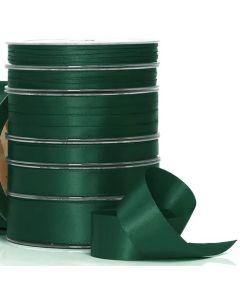 Ribbon Roll - Premium Satin DARK GREEN (10mm wide x 25 metres)