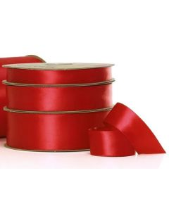 Ribbon Roll - Satin RED (15mm x 50 metres)