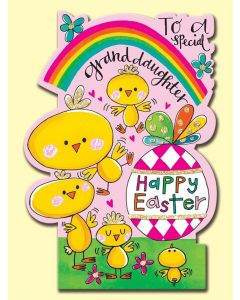 Easter Card - To a Special GRANDDAUGHTER