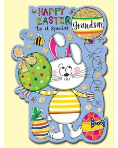 Easter Card - To a Special GRANDSON