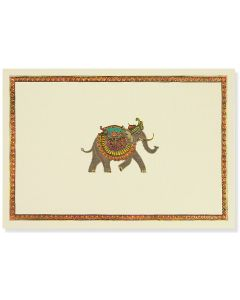 Elephant Festival Notecards - 14 cards & 15 envelopes