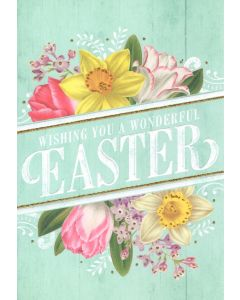 Easter Card - Wonderful Easter