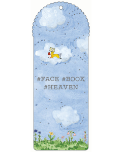 Face Book Heaven Bookmark