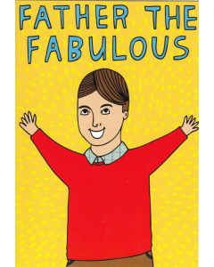 'Father the Fabulous' Card