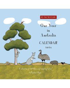 2021 Calendar - RTD Australian calendar