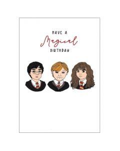 'Have A Magical Birthday' Harry Potter Card