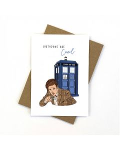 Birthday Card - DOCTOR WHO