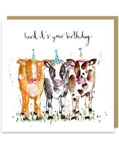 Birthday Card - Herd It's Your Birthday
