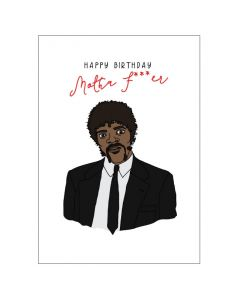 'Happy Birthday Mother F***er' Pulp Fiction Card