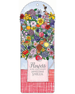 Flowers Bookmark