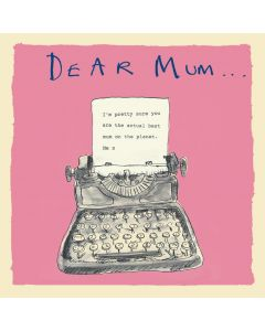 MUM Card - Best on the Planet