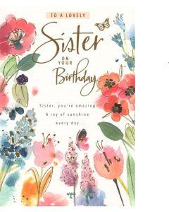 SISTER Card - Ray of Sunshine