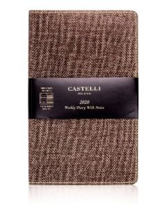 SALE - Castelli 2020 Weekly Diary - Harris Tobacco