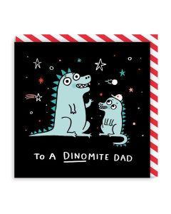 DAD Card - Dinomite Dad