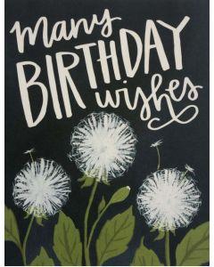 BIRTHDAY - Dandelion wishes