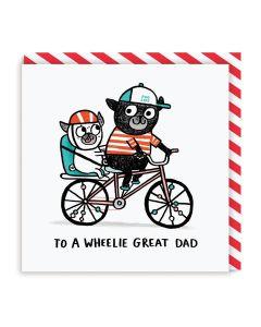 DAD Card - Wheelie Great