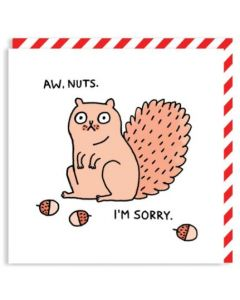 SORRY - 'Aw, nuts' Card