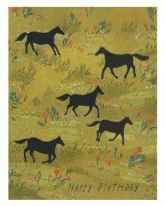 Birthday - Horses