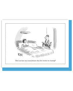 Greeting Card - Sexual Fantasies