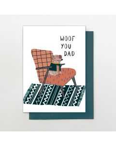 DAD Card - Woof You