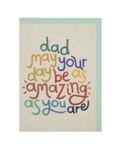 DAD Card - Amazing Day