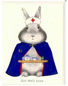 Get Well - Bunny Nurse