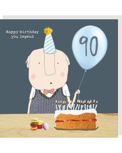 AGE 90 Card - Birthday Legend
