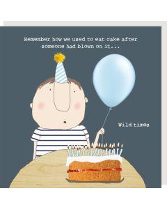 Birthday Card - Wild Times