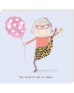 NANA Card - You've Still Got It