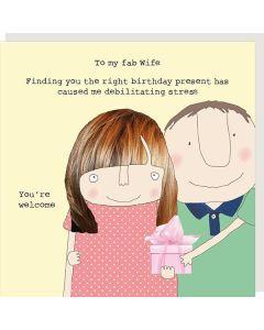 WIFE Card - Fab Wife