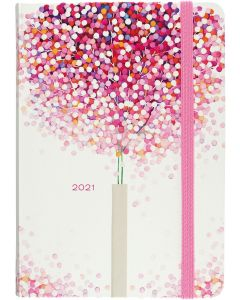 16-Month (Sept 2020-Dec 2021) Diary Planner - Lollipop Tree