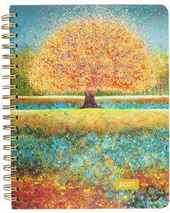 16-month (Sept 2020-Dec 2021) Desk Engagement Calendar - Tree of Dreams