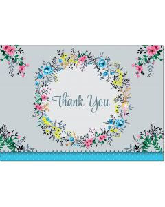 Boxed Thank You Cards - Cottage Garden